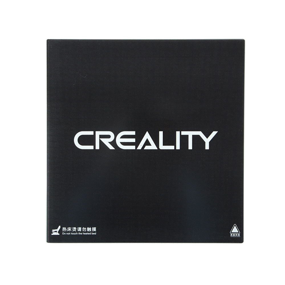 Creality 3D® Ultrabase 310*320*4mm Carbon Silicon Glass Plate Platform Heated Bed Build Surface for CR-10S Pro / CR-X MK2 MK3 Hot bed 3D Printer Part