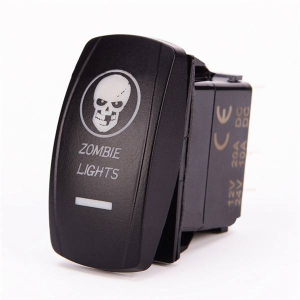 Laser Engraving Switch Modification for Jeep RV SUV Motorcycle Boat Yacht
