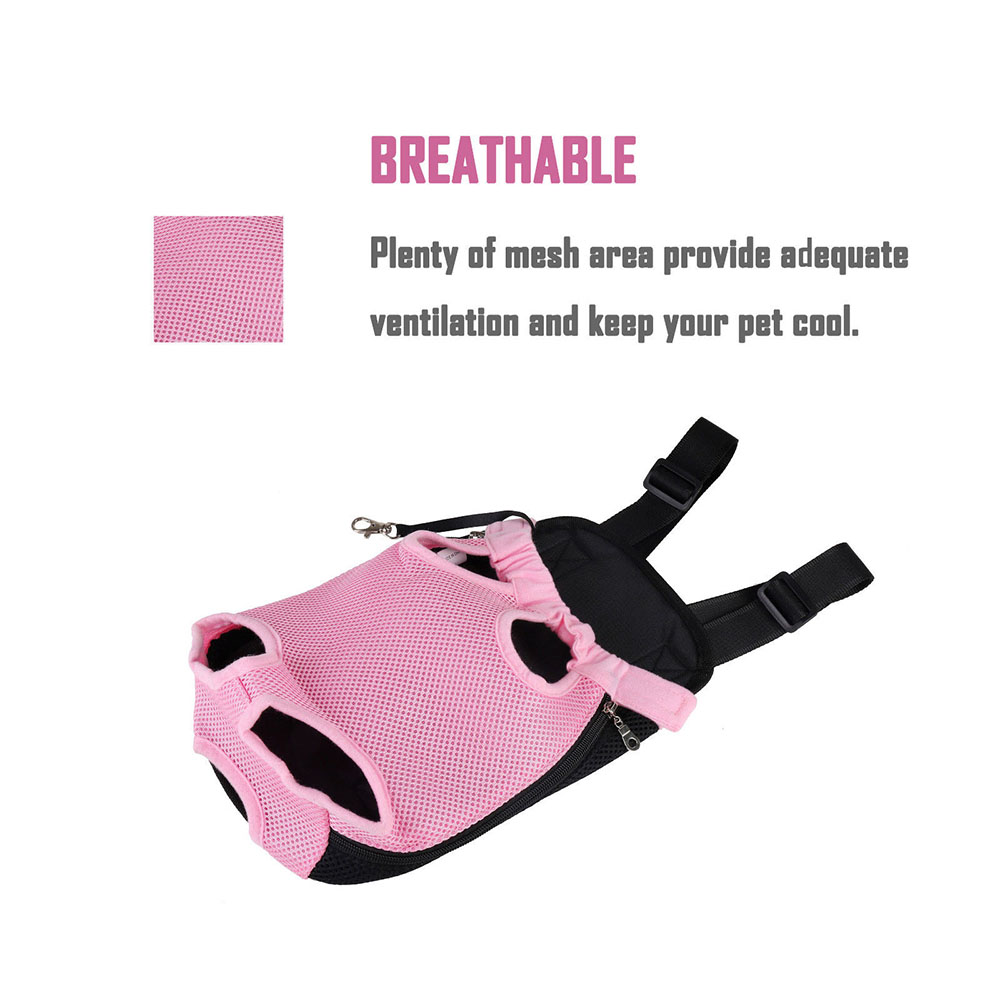 Multicolor Pet Carrying Backpack Pet Outdoor Chest Bag Travel Portable Backpack