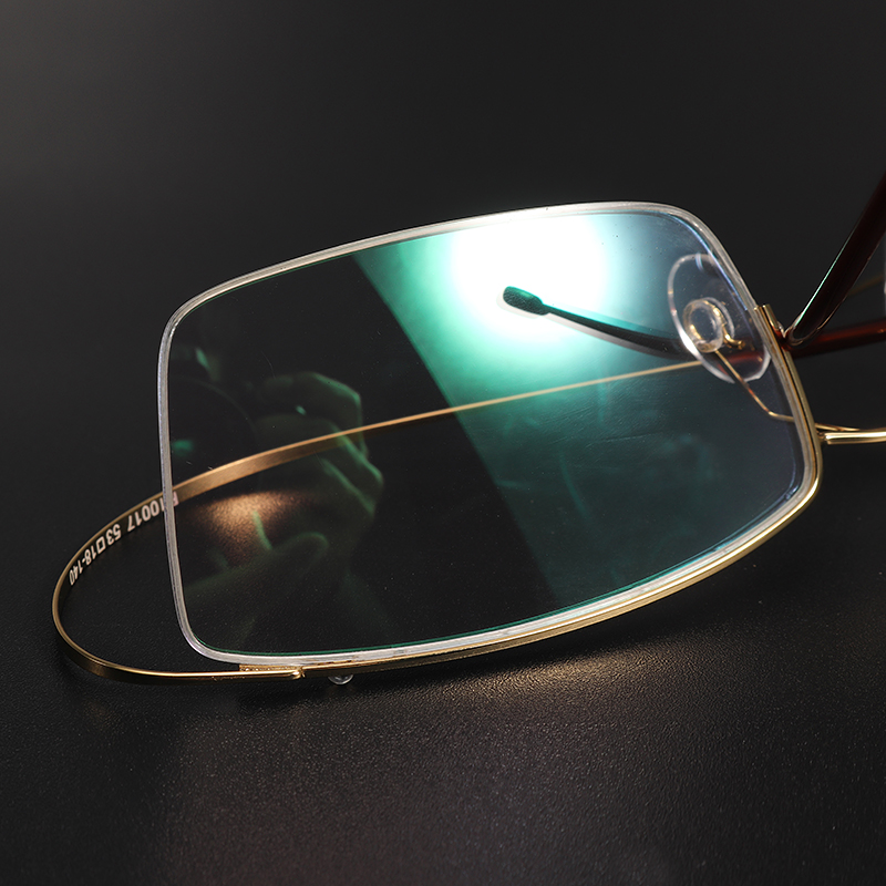 BROADISION Titanium Alloy Glasses Frame
