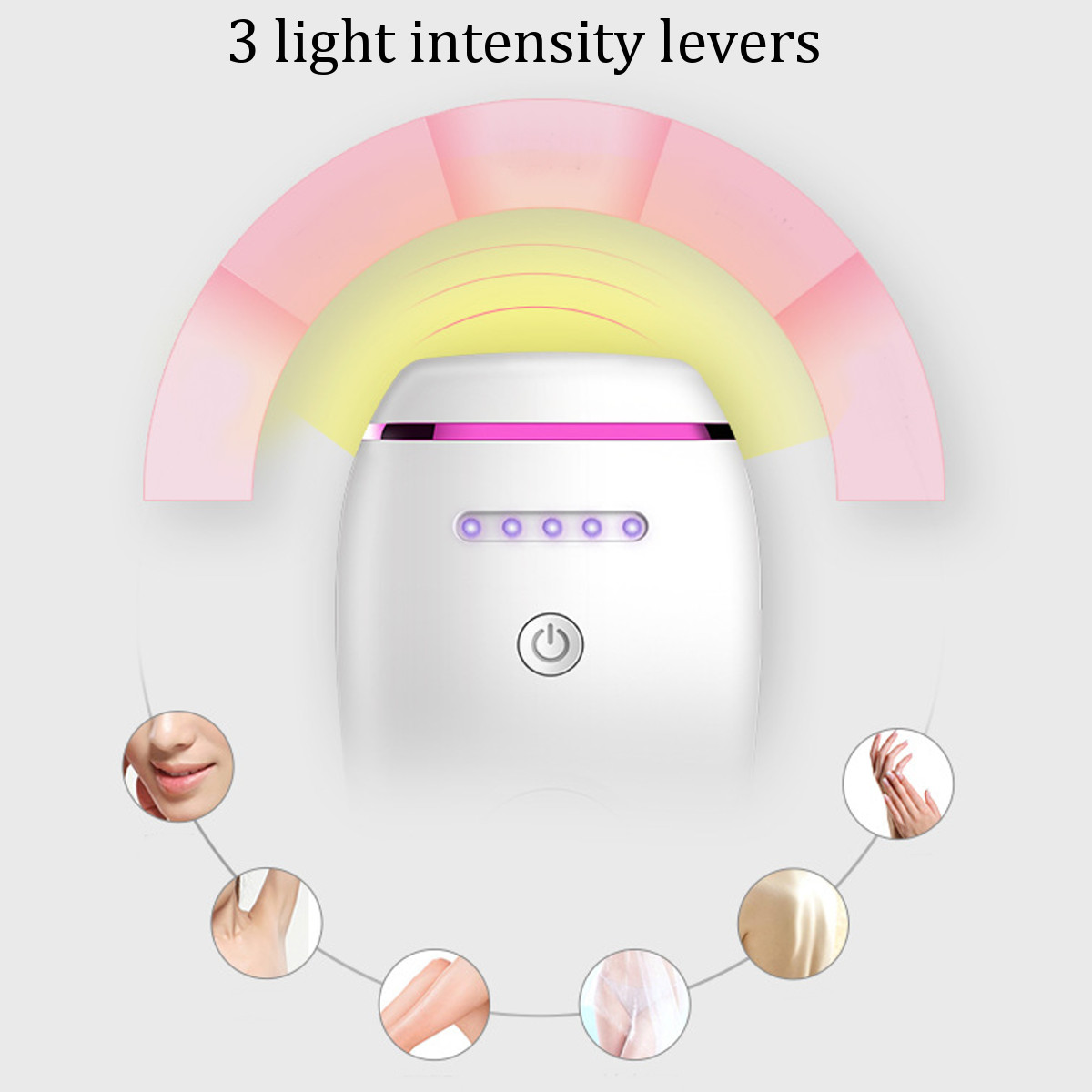 500000 Pulses IPL Laser Epilator Hair Removal Permanently