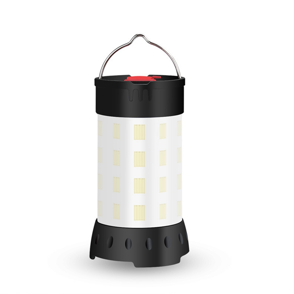 Portable USB Rechargeable Camping Tent Light Lantern Hook Magnet Waterproof 5 Modes Emergency Lamp