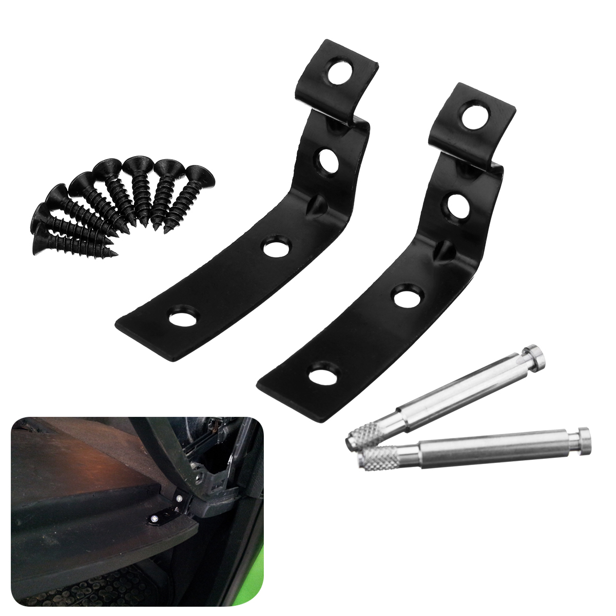 Glove Box Hinge Bracket Lid Snapped Repair Tool Kit for Audi A4 S4 B6 B7 94-16