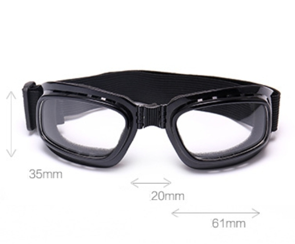 Unisex Full Rim Skiing Glasses Foldable Tactical Goggles Skate Climbing Cycling Sunglasses Eyewear