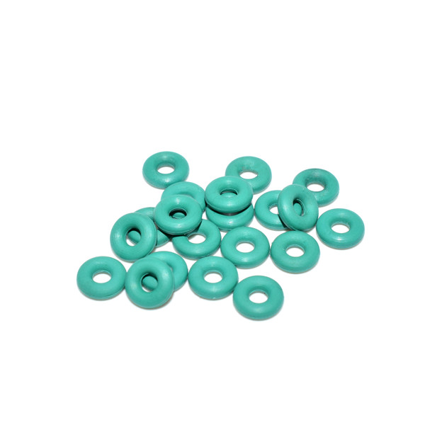20 PCS O-rings Vibration Isolation Flight Controller Protection Rubber Band Green White for RC Drone