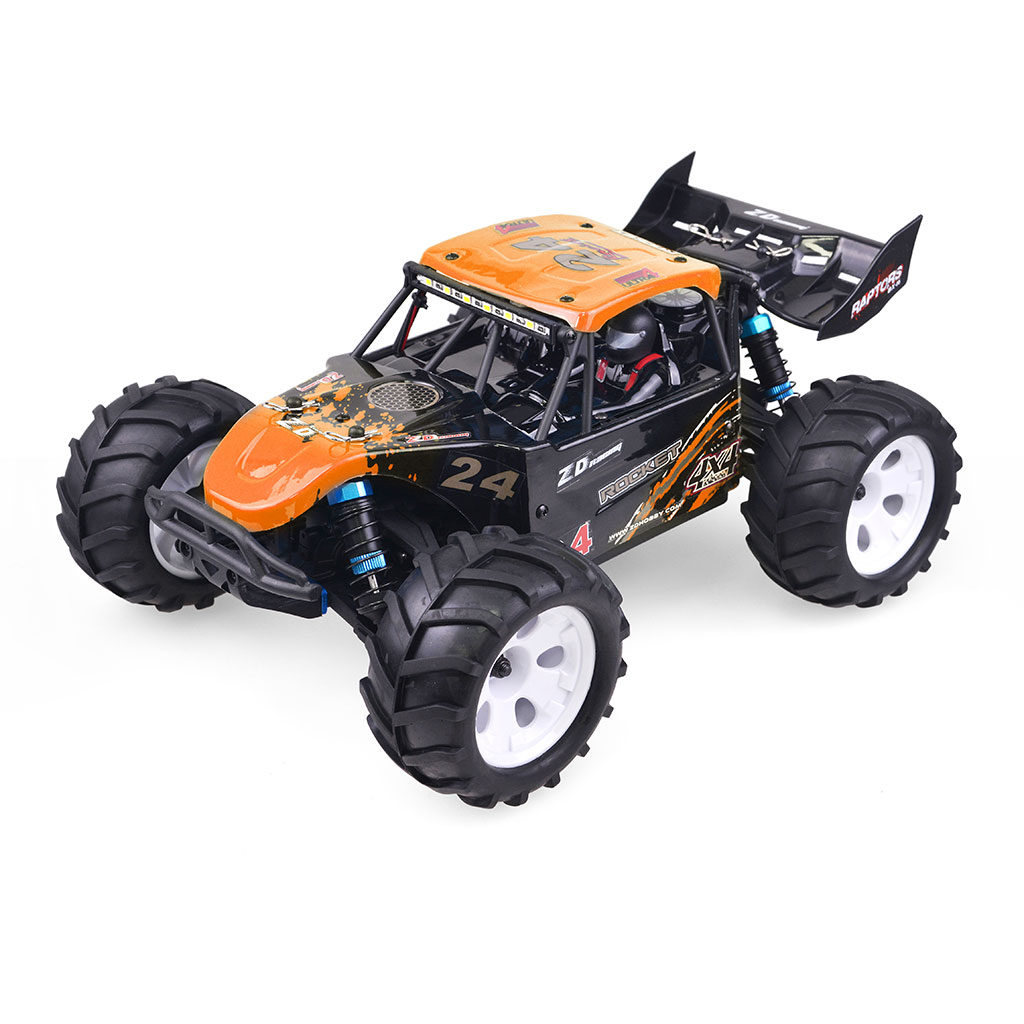 ZD 16427 Racing 1/16 2.4G 4WD Electric Brushled Truck RTR RC Car Vehicle Models - Photo: 3