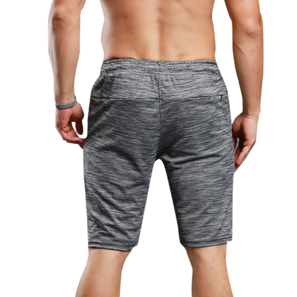 Summer Casual Men's Gym Sweat Quick Drying SporT-pants Elastic Waist Breathable Runing Shorts