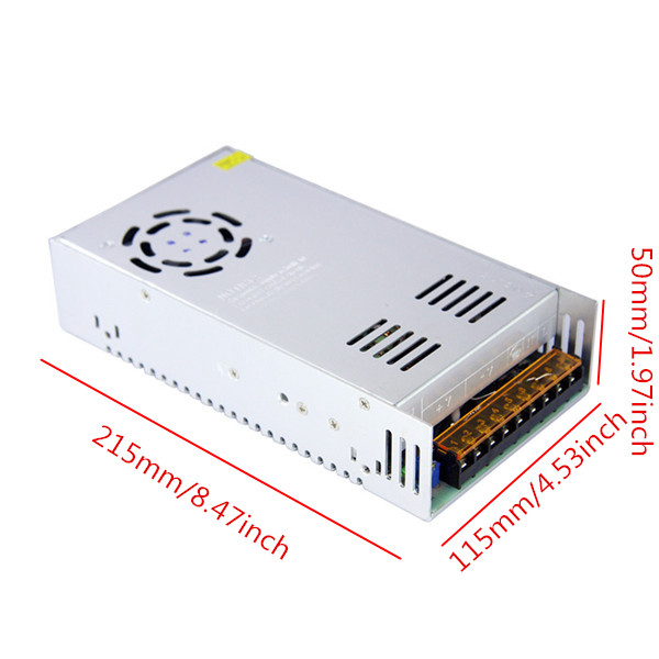 AC110V/AC220V To DC 24V 15A 360W Switch Power Supply Driver Transformer Adapter For LED Strip Light