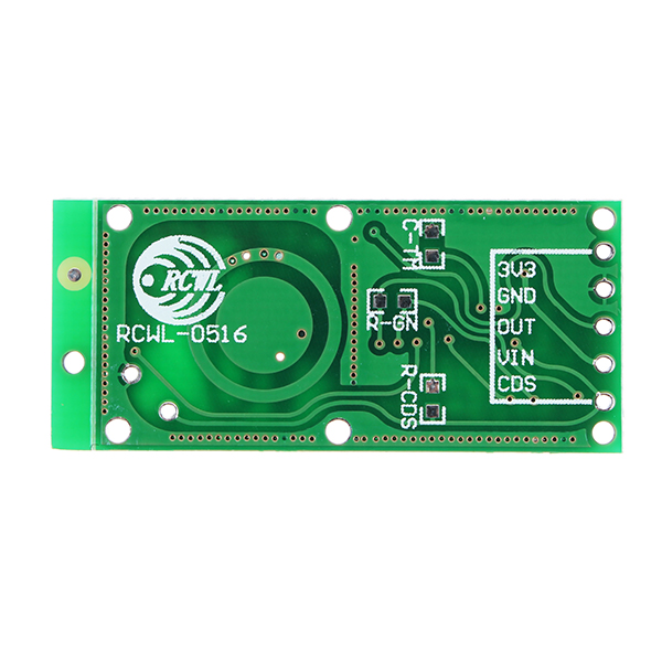 5Pcs RCWL-0516 RCWL 0516 Microwave Radar Sensor Human Sensor Body Sensor Module Induction Switch Module Output 3.3V