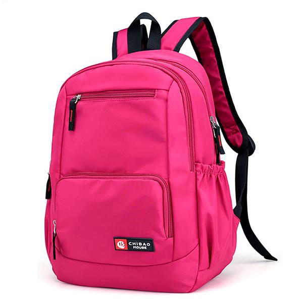 Casual Nylon Waterproof Large Capacity Backpack