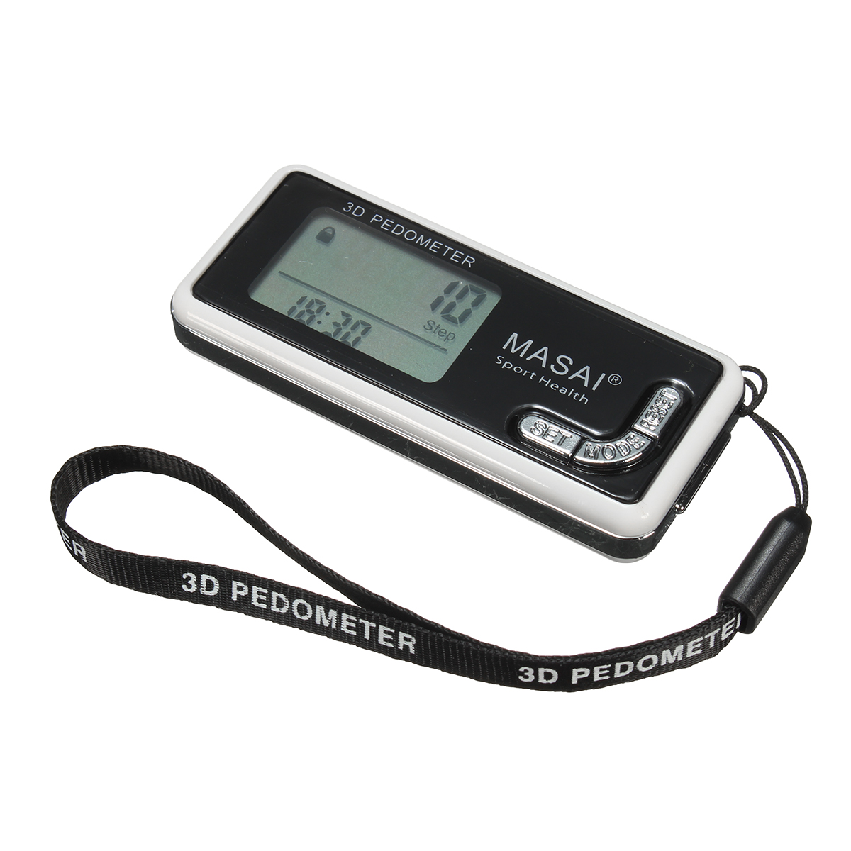 Sports LCD 3D Sensor Pedometer Run Step Walking Calorie Distance Counter With Backlight