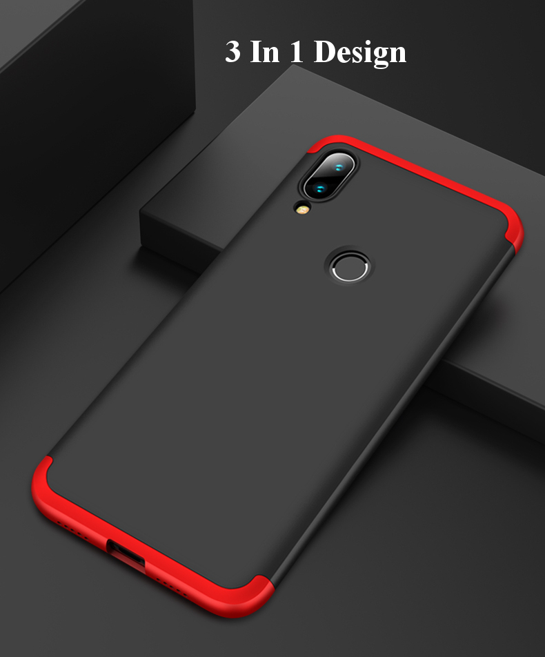 Bakeey™ 3 in 1 Double Dip 360° Full Hard PC Protective Case For Xiaomi Mi Play