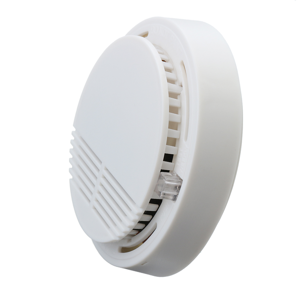 Home Security Photoelectric Cordless Smoke Detector Fire Sensor Alarm