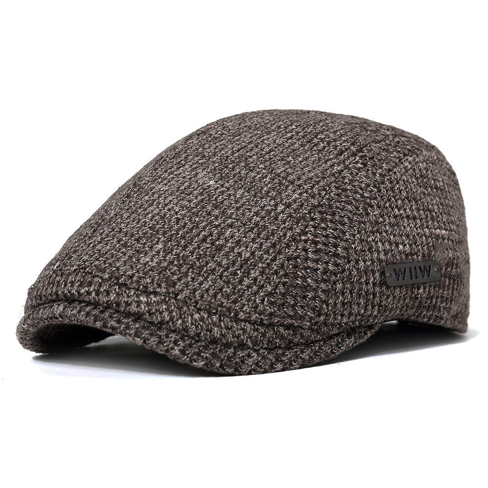 Unisex Men's Cotton Wool Gatsby Beret Cap Golf Driving Hat