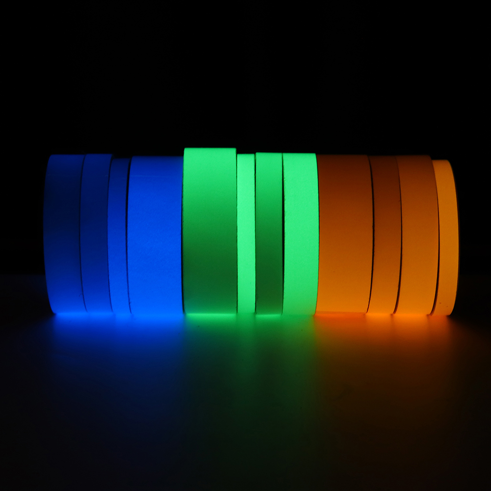 5M Self-adhesive Luminous Tape Night Vision Glow Dark Safety Warning for Car Home Stage Decoration