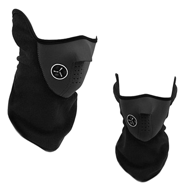 Men Women Cycling Hiking Half-protection Face Mask