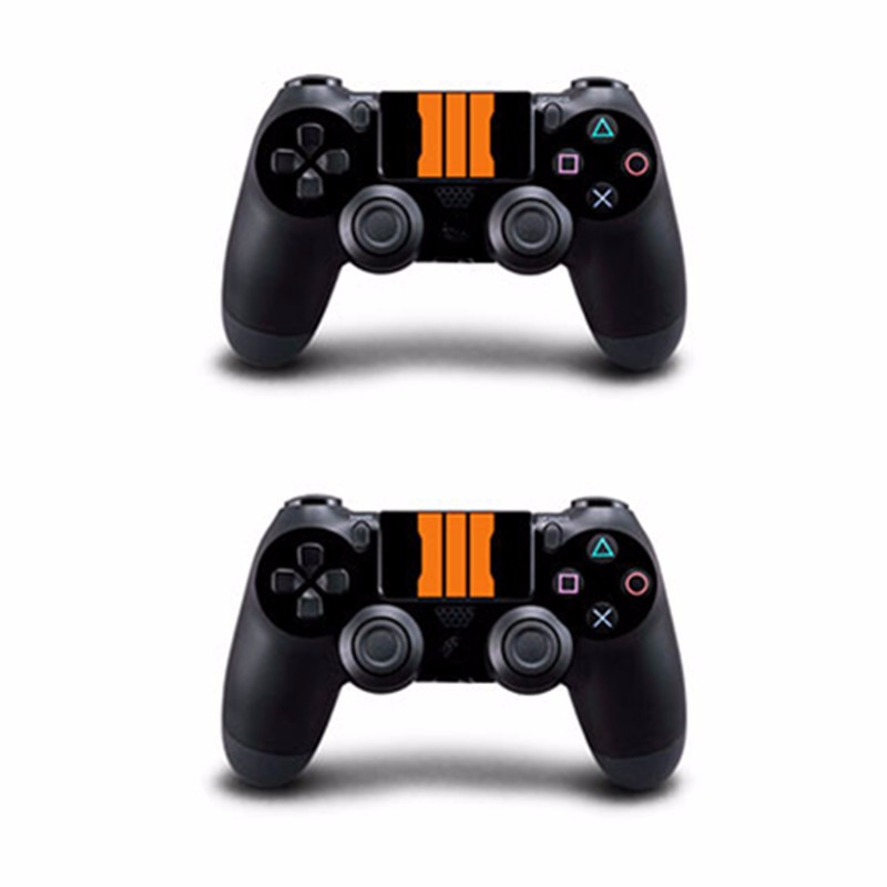Black Skin Sticker for PS4 Play Station 4 Console + 2 Controller Protector Skin
