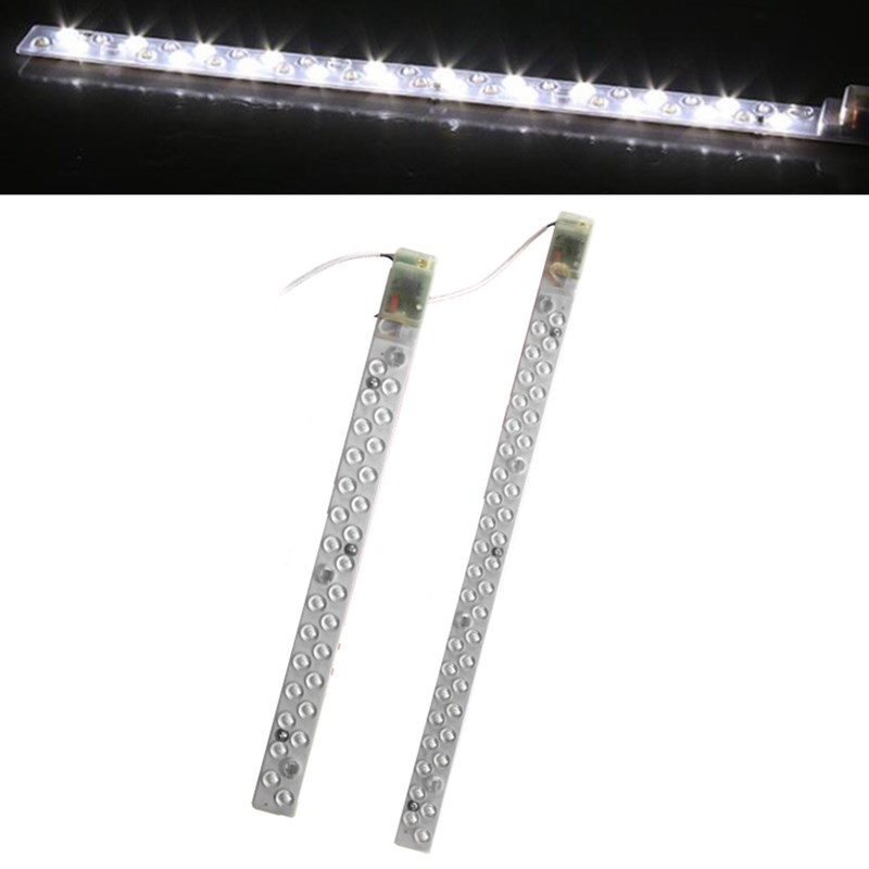 AC220V 14W 20W SMD2835 Pure White LED Hard Rigid Strip Bar Light for Decoration