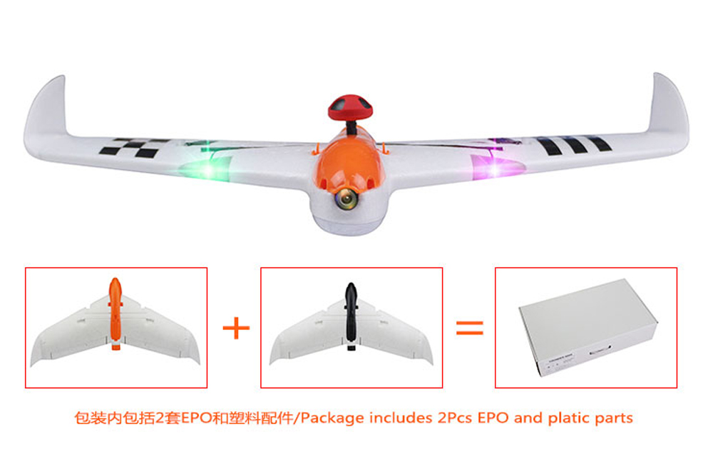 Kingkong/LDARC THUNDER 600X 656mm Wingspan EPO FPV RC Airplane PNP