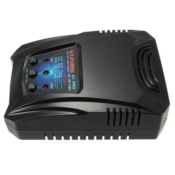 G.T.Power A3 Pro 2A 16W AC Charger For 2-3S Lipo LiFe 4-8S NiMH NiCd Battery