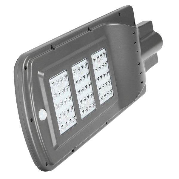 60W Solar Powered Radar Sensor Light Control LED Street Light Outdoor Waterproof Wall Lamp
