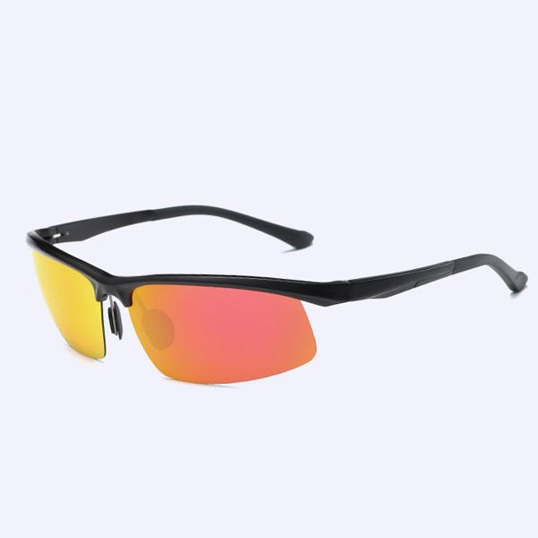 MenS-classic Aluminum Magnesium Anti-UV Polarized Sun Glassess UV400 Anti Glare Driving Eyewear