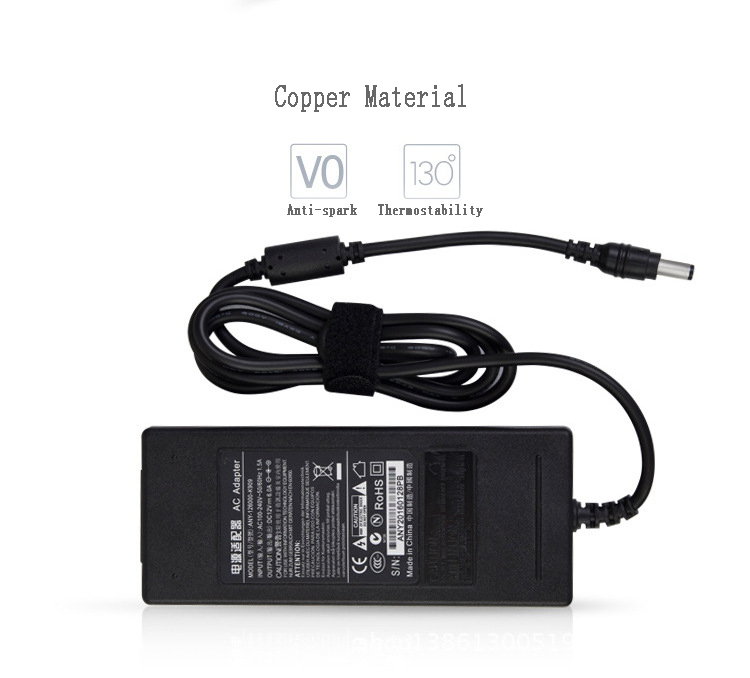 DC 12V 6A Power Supply Adapter EU&International Three Pin Plug for IMAX B6 Balance Charger
