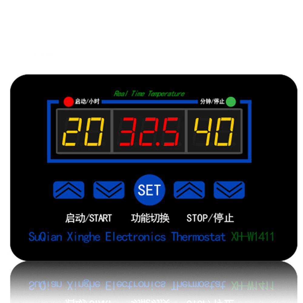 XH-W1411 12V 10A Smart Electronics LED Digital Thermometer Temperature Controller Switch Module