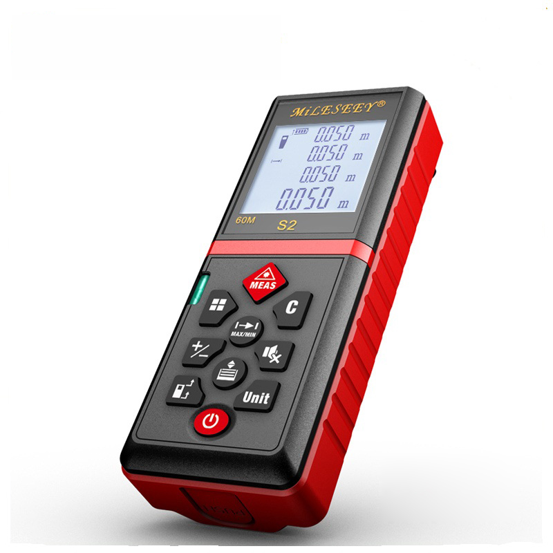 Mileseey S2 Laser Level Meter with Bubble Level Smart S