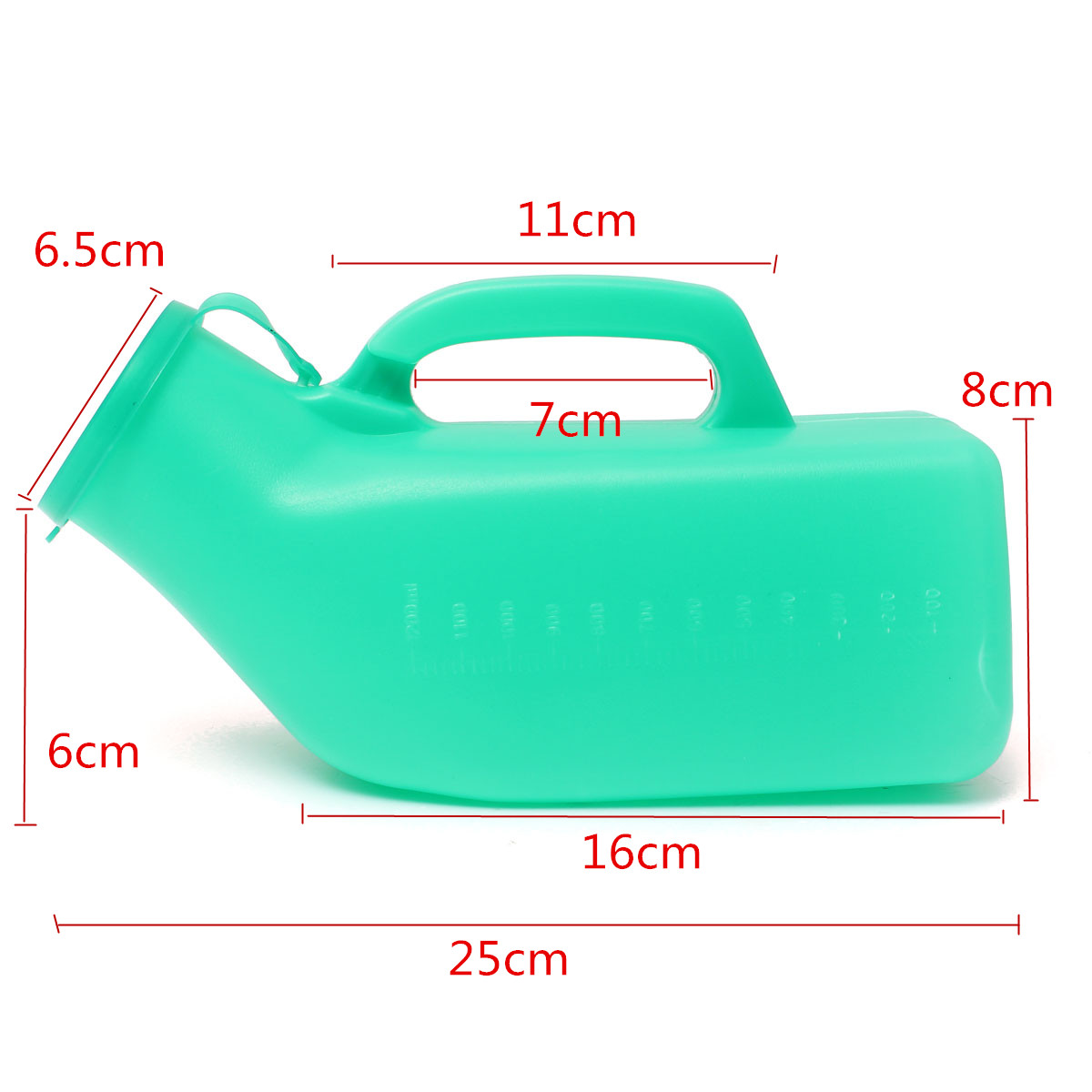 1200ml Portable Camping Toilet Car Travel Male Men Plastic Urinal Bottle