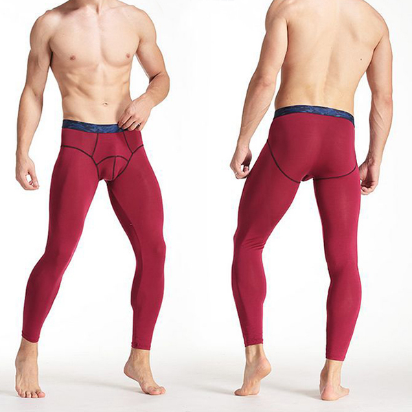 Tight Thermal Underwear U Convex Modal Soft Thin Long Johns