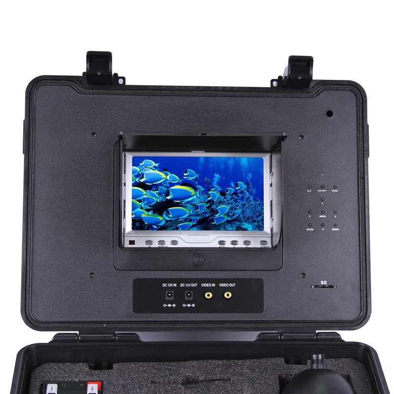 CR110-7C DVR Under Water PTZ Rotation 600TVL Camera 360 Degree with 20m to 100m Cable