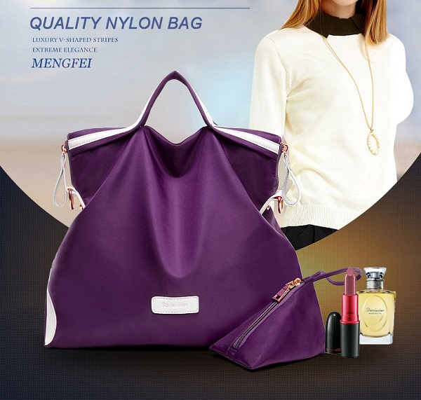 Women Quality Nylon Waterproof Light Weight Casual Handbag Buy One Get Another One