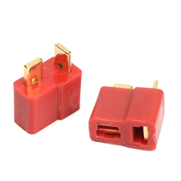 Excellway® DC 012 20pcs T Plug Male & Female Connectors Deans Style For RC LiPo Battery