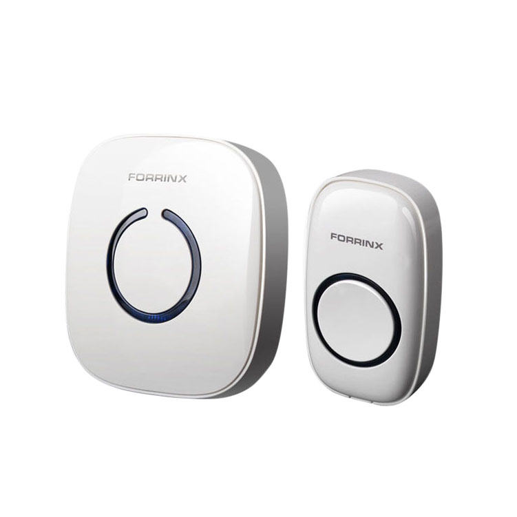 Smart Forrinx Digital UK AU AC 220-240V Wireless Remote Control Home Office Doorbell Anchorage Buy Ad