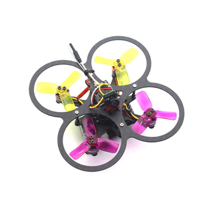 HSK90 90mm Micro Brushless RC Drone FPV Racing w/ F3 Built In OSD 15A BLHeli_S 600TVL Camera BNF