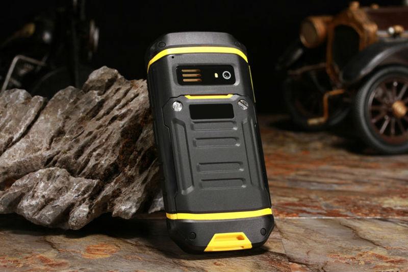 JEASUNG X6 IP68 2.4 Inch 2500mAh UHF Walkie Talkie Torch bluetooth Dual SIM Waterproof Feature Phone
