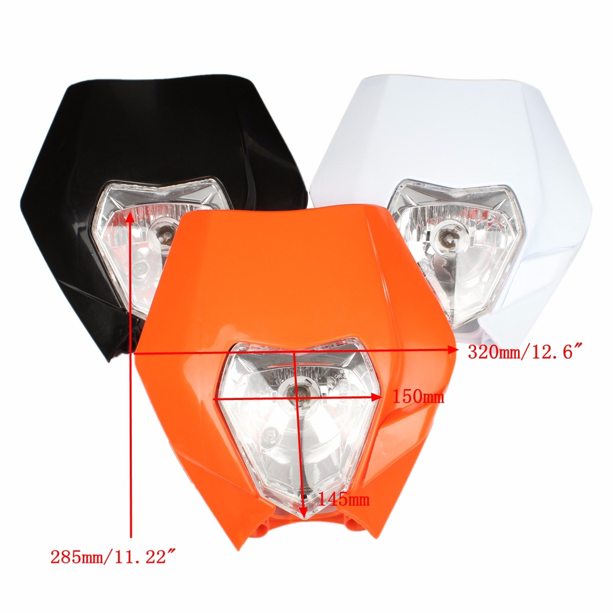 Amber Light Headlights Headlamp For KTM EXC EXCF XCF XCW SXF SMR Enduro