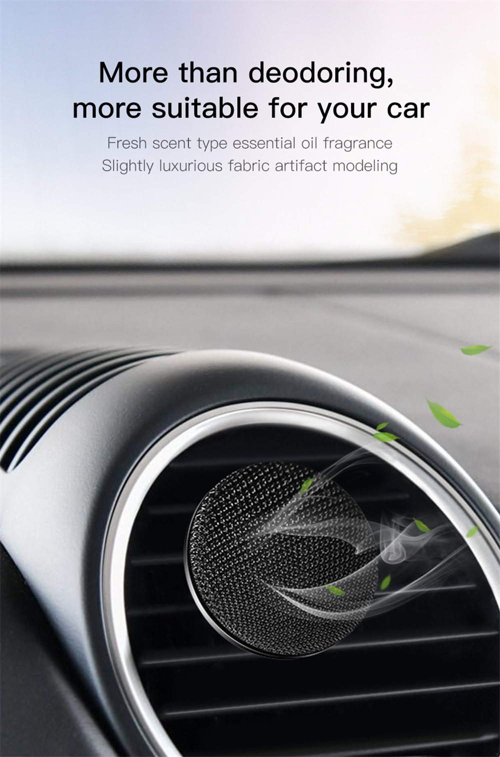 Baseus Car Air Freshener Perfume Auto Conditioning Outlet Vent Liquid Aromatherapy Diffuser