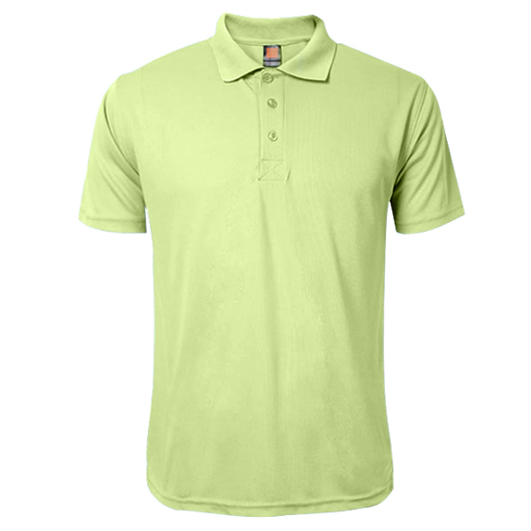 Summer Solid Color Short Sleeve Turn Down Collar Golf Shirt