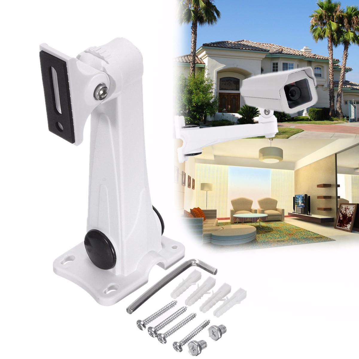ZSX-608S Wall Mount Bracket Indoor Outdoor Home Surveillance For CCTV Security Camera