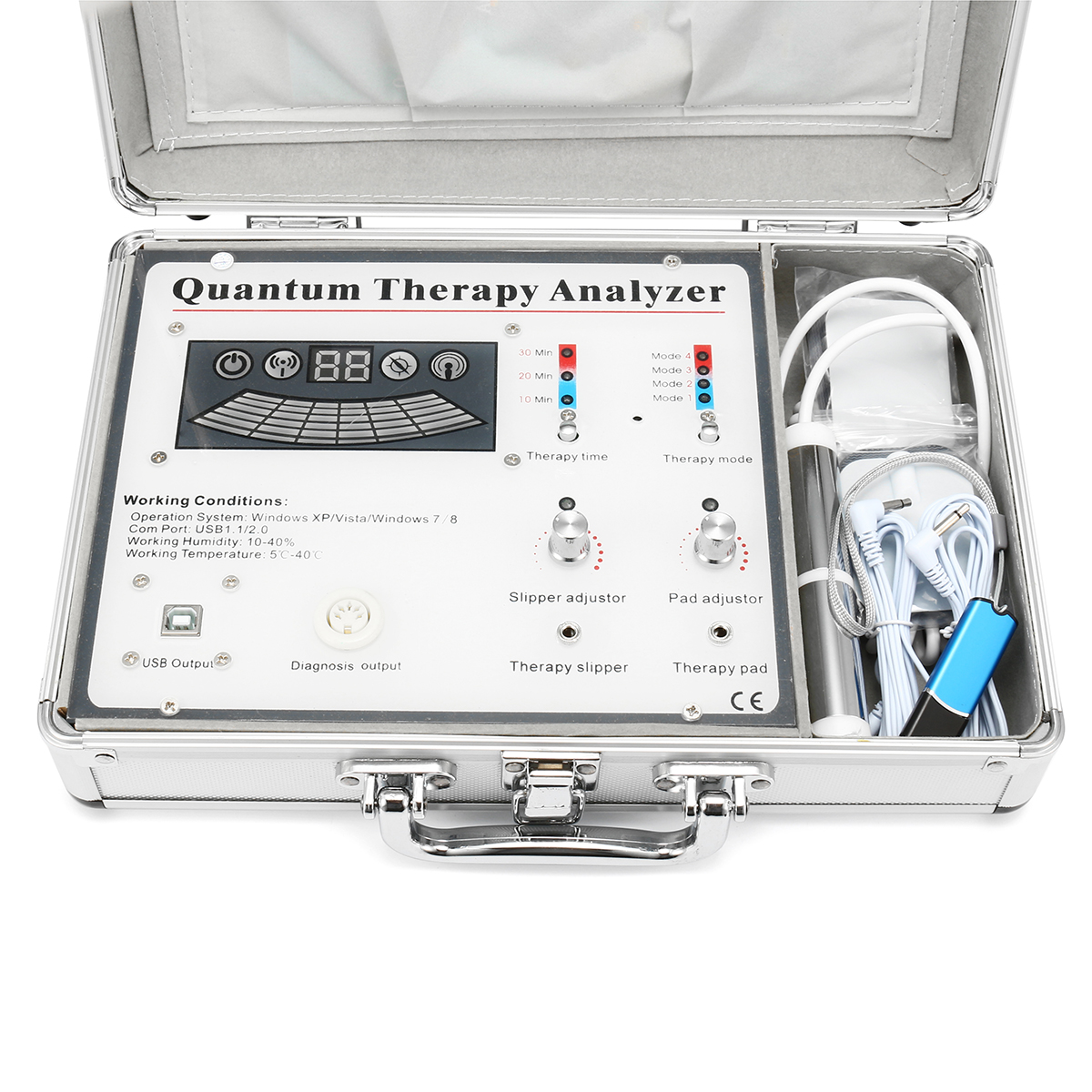 Healthy Quantum Body Analyzer Magnetic Resonance Massage Therapy Sub Health