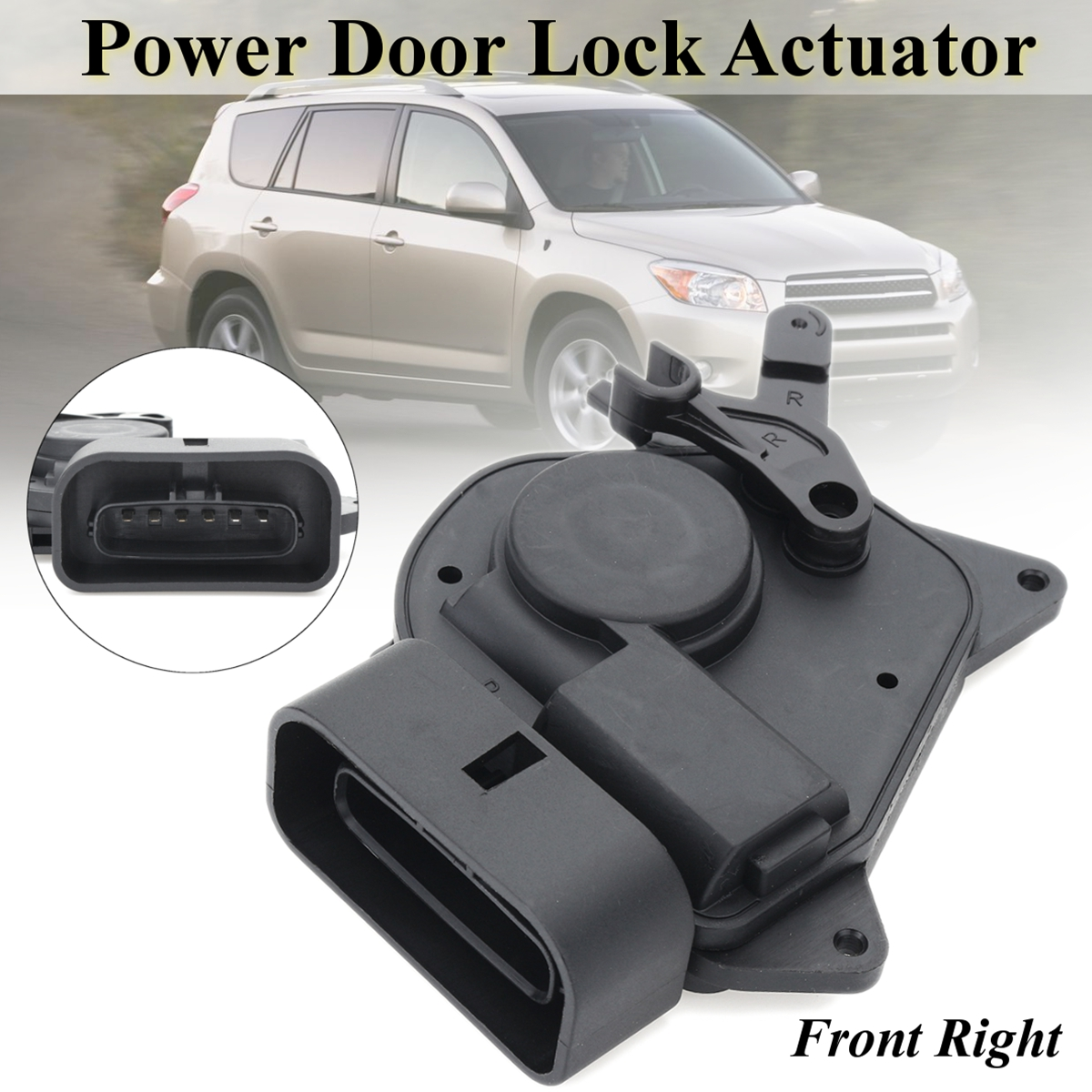 Front RH Right Passenger Side Power Door Lock Actuator For Toyota Rav4 2000-2006