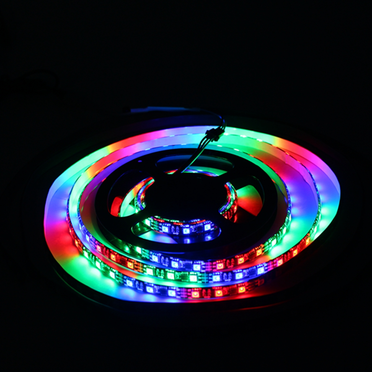 LUSTREON 1M 2M 3M 4M 5M Non-waterproof IC UCS1903 Programmable Flexible 60LED/M Strip Light DC12V