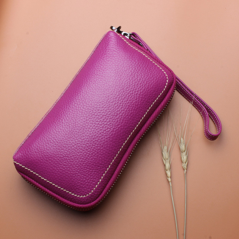 Women Leather Handbag large Capacity Phone Wallet Pouch Bag for iPhone Xiaomi Mobile Phone under 5.5