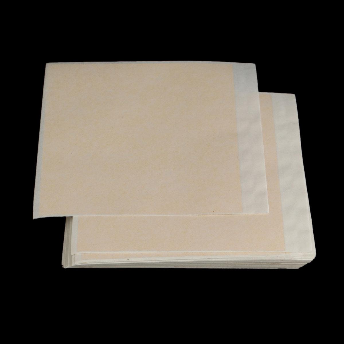 100pcs 9.5x8.5cm Gold Foil Paper Gold Leaf Foil Sheets