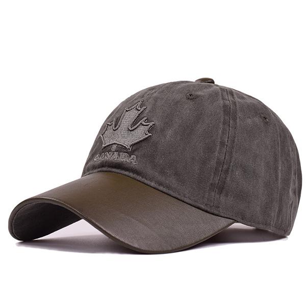 Men Vintage Cotton Embroidery Baseball Cap Casual Sport Adjustable Hats