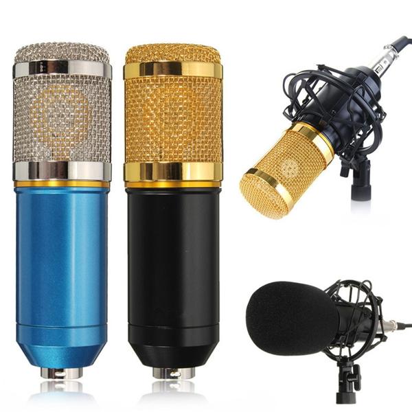 Professional Condenser Microphone Mic Sound Studio Recording Dynamic