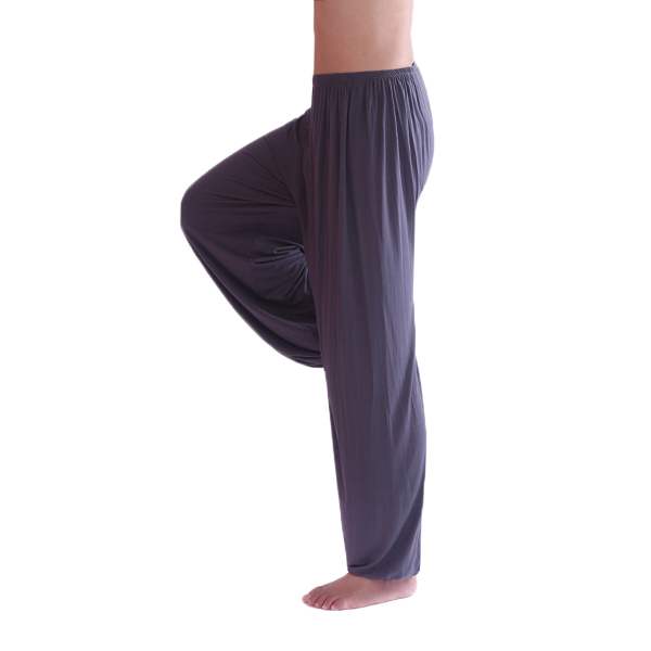 Mens Casual Sports Gym Exercise Yoga Pants Loose Elastic Waist Casual Bloomers 9 Colors