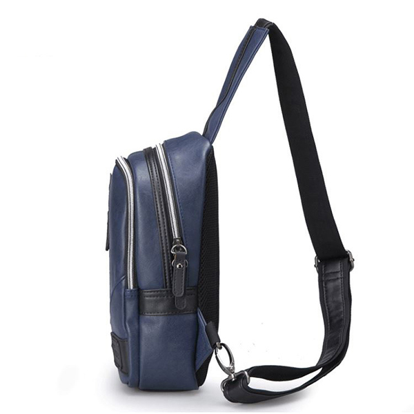 Men New Trend Small Chest Bag Fanny Pack Crossbody Bag